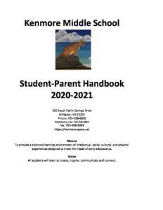 20-21 KMS Student-Parent Handbook