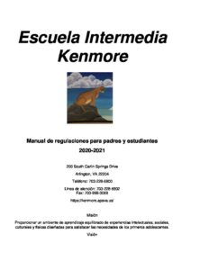 Spanish.20-21 KMS-Parent Handbook