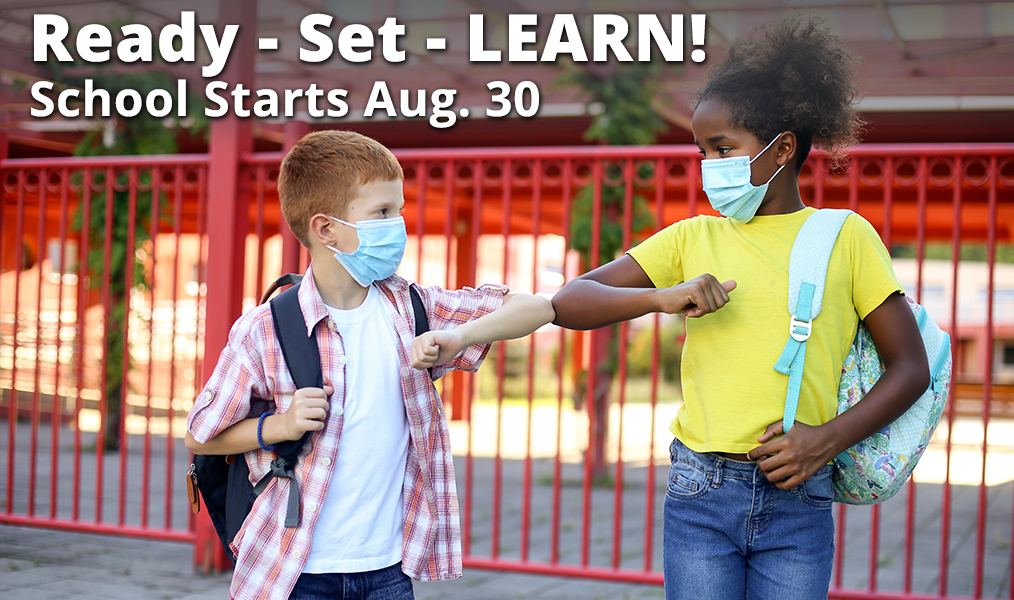 Back To School – 1st Day of School is Aug 30th