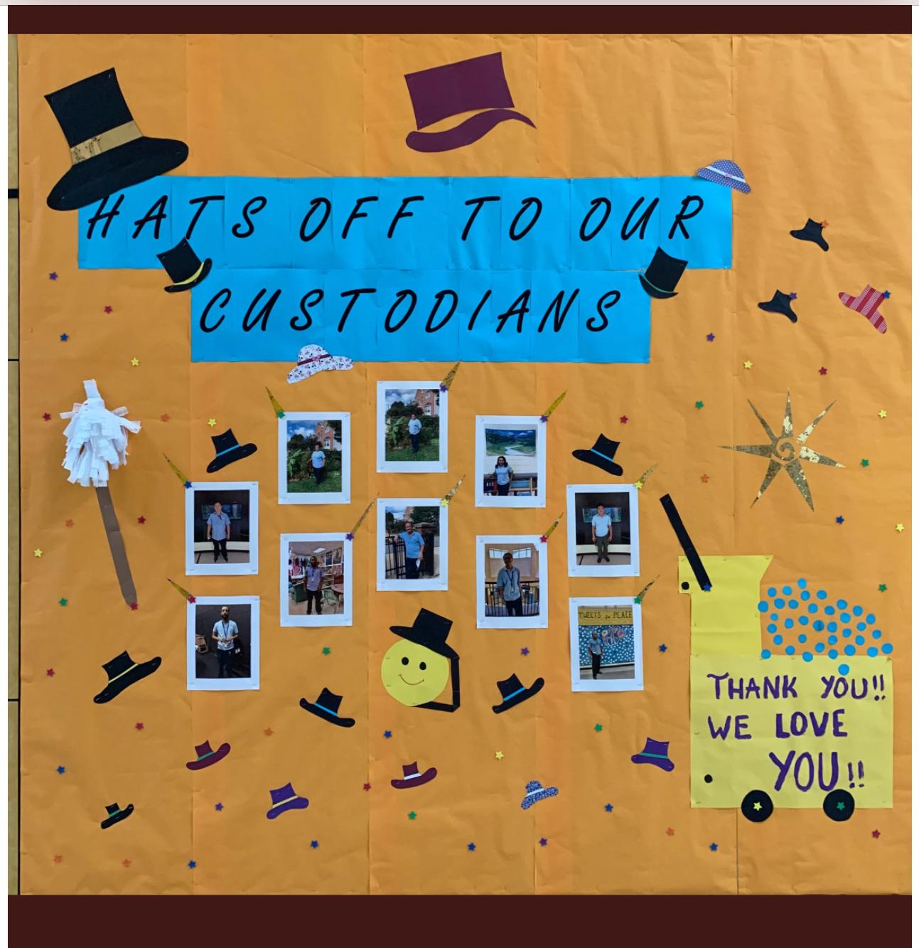 We Appreciate our Custodians